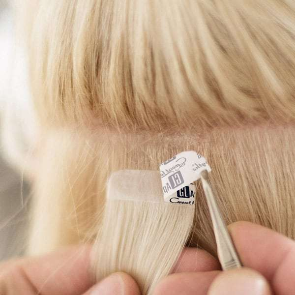 Tape Hair Extensions Are Fast
