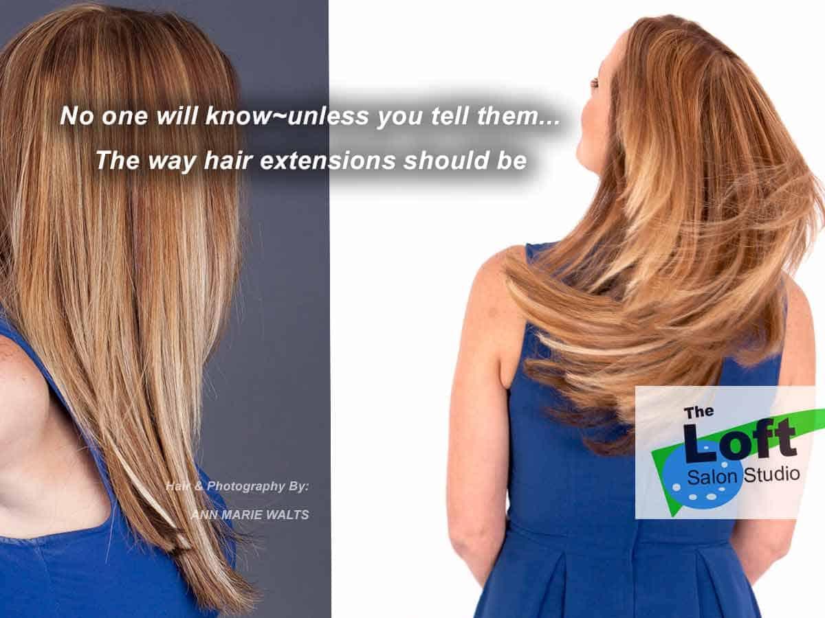 Portfolio hair extension makeover actual photos - Hair salon extensions ...