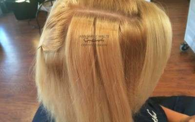 Reusable Tape Hair Extensions